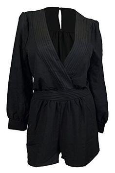eVogues Plus Size Long Sleeve Romper Black, http://www.amazon.com/dp/B00NXTNOSA/ref=cm_sw_r_pi_awdl_xv92ub0FP8A25