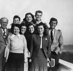"""""""The Kennedy family in Hyannis Port, c. 1946. """""""