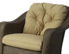 Reflections Lounge Rocker Seat and Back Cushion (Canvas Sapphire Blue)