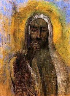 Christ du silence, par Odilon Redon