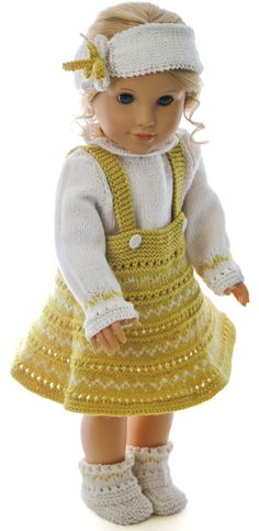 Doll clothes patterns knitting