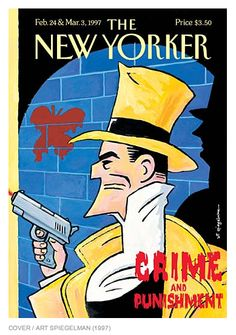 The New Yorker cover, February 24 & March 1997 by Art Spiegelman The New Yorker, New Yorker Covers, Vintage Comics, Vintage Books, Vintage Magazines, Art Spiegelman, Children's Comics, Magazine Art, Magazine Covers
