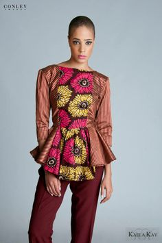 Kaela Kay Fall/Winter 2013 African Prints