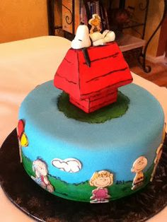 "Bellissimo! Specialty Cakes: ""Peanuts/Charlie Brown Birthday Cake"" - 9/12"