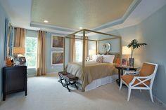 Victory Lakes Camryn model master bedroom, in Bristow, VA