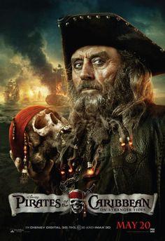 Piratas do Caribe 4 - Ian McShane