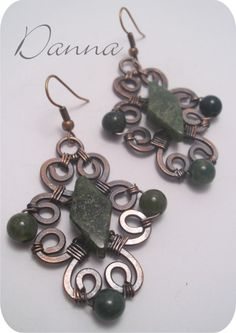 Spring Earrings - Copper Wire Jewelers