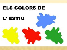 ELS MESOS DE L'ANY Lany, Marti, Pre School, Places, Summer, Color, School, Winter Drawings, Seasons Of The Year