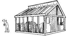 Sunroom, Greenhouse and Skylight Plans