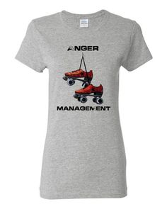 Do you love to blow off aggression at the rink? If you think it's the very best place to do just that, then you'll enjoy wearing this classic scoop-neck tee that lets people know exactly why you're th
