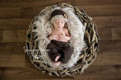 Faux Flokati Fur Newborn Photo Props Baby Blanket - Newborn Props, Fake Fur, Photography Props, Long Fur, Mongolian, Sand Beige Neutral