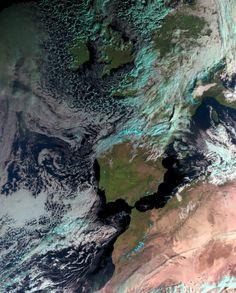 Wintry Europe - European Space Agency 12.12.2014