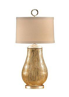 Broom Finish Vase Lamp