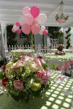 Heavenly Blooms: Miss Kate's Baby Shower - Pretty in Pink Southern Inspiration