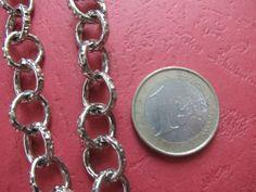 3.28 Feet 1 meter  12 mm Silver Tone Textured http://etsy.me/1Mkq4jU #jewelry #ring #mount #brass #jewel #gem #bezel #setting