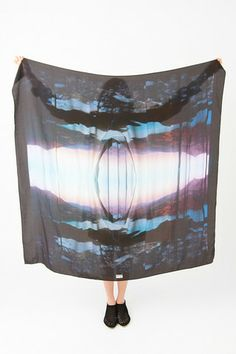 Anntian silk scarf