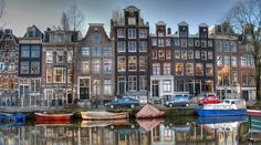 AMSTERDAM - 90 islands linked by 400 bridges.     A paradox.    A vibrant, international and modern city where many of its buildings have remained virtually unchanged since the 19th century,  It is a treasure trove of galleries, museums, architecture, history and atmosphere.