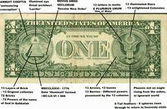 A dollar bill | 33 Signs The Illuminati Is Real