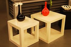 Side tables on pinterest side tables ikea hacks and for Tables d appoint ikea