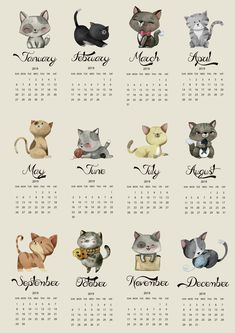 Get organised with this 2019 cat planner . Get it for free with 12 more pawesome freebies. For cat lovers and cat friends. Calendar 2019 Printable, Cat Calendar, Daily Planner Printable, Print Calendar, Calendar Design, Creative Calendar, Free To Use Images, Dog Training Videos, Dog Costumes