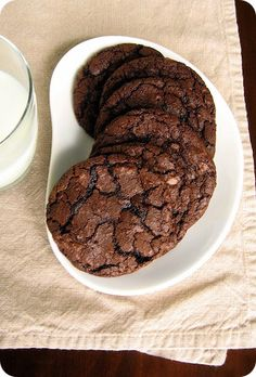 all I want right now are these cookies and a big glass of milk