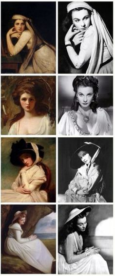 Vivien leigh as Hamilton Old Hollywood Movies, Old Hollywood Glamour, Vintage Hollywood, Classic Hollywood, Katharine Hepburn, Audrey Hepburn, Ingrid Bergman, Vivien Leigh, Classic Movie Stars