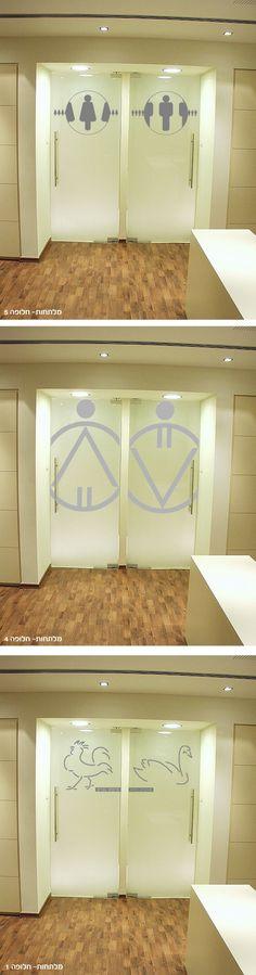 Toilet / Restroom ID Signage