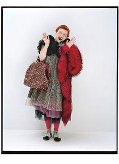 Photos: Lynn Yaeger, Michelle Harper and more of fashion's eccentrics: Fashion: Wmagazine.com
