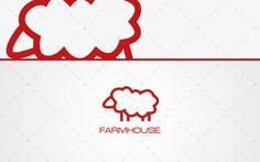 Farm Sheep Logo For Sale #logodesigns #designer #designers #inspirations #vector #buylogo #logoshop #illustrator #illustration #business #entrepreneur #website #blog #animals #mascot #wild #bloggers #blogger