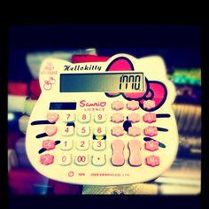 Hello Kitty Calculator.