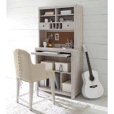 Legacy Classic Kids Indio by Wendy Bellissimo Contemporary Counter Height Desk and Hutch with Cork Board