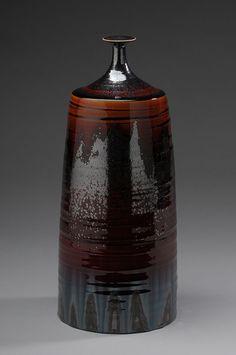 Hideaki Miyamura vase, crystalline glaze, porcelain