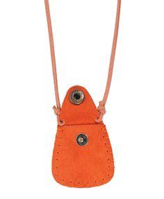 Leatherette Pouch Necklace  $5.80
