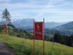 Kitzbühel. Die Streif im Sommer bezwingen ist wunderschön - lest mehr auf meinem Blog