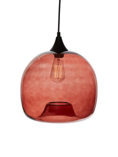 Glass Shade Pendant Lamp: from Bright Finds: Pendant & Overhead Lighting on Gilt