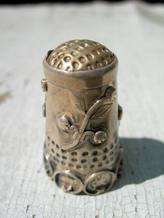 Antique Sterling Thimble