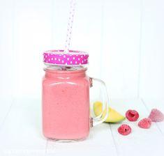 Rezepte mit Herz   ♥: Mango - Himbeer - Kokosnuss - Smoothie ♡