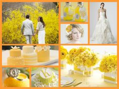 Lemon wedding theme
