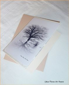 Carte Black and White de Céline Photos Art Nature