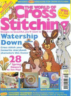 Gallery.ru / Фото #1 - The world of cross stitching 044 апрель 2001 - WhiteAngel