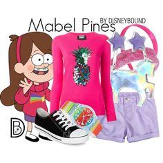 Disneybounding Mabel Pines from Gravity Falls