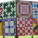Patterns send messages:  Underground Railroad Quilt patterns