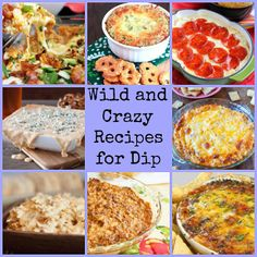 Is it football season yet? These wild and crazy dip recipes are perfect for watching the game.