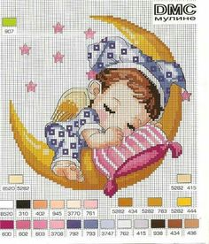 Kreuzstich Simple Baby cross stitch charts free 01 Back stitches are utilized to outline the job. Baby Cross Stitch Patterns, Free Cross Stitch Charts, Cross Stitch For Kids, Cross Stitch Baby, Cross Stitch Designs, Cross Stitching, Cross Stitch Embroidery, Embroidery Patterns, Hand Embroidery