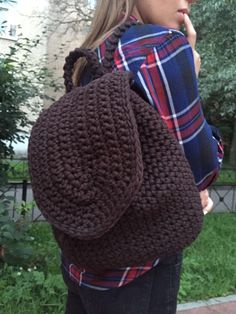 Crochet mochila por ShopSv en Etsy
