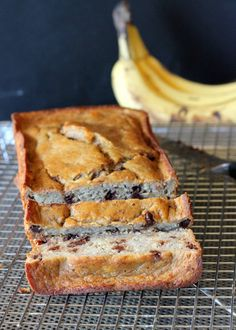 This Secretly Healthy Banana Bread tastes just like classic banana bread, but it's gluten free, oil free, & refined sugar free! It's made with oat flour for a texture very similar to the original.