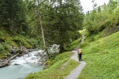 Wanderung Flimser Wasserweg Flims Switzerland, Golf Courses, Hiking, Flims, Walks, Trekking, Hill Walking