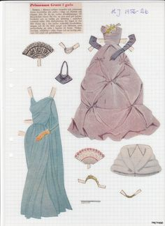 HJ - 1963 | Maggans nostalgiska klippdockor *1500 free paper dolls for Christmas at artist Arielle Gabriels The International Paper Doll Society and also free Asian paper dolls at The China Adventures of Arielle Gabriel *