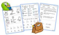 La classe de Sanléane: Lire avec Ludo - Les fiches de lecture du soir
