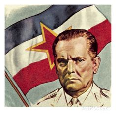 President Tito of Yugoslavia Giclee Print by English School at AllPosters.com